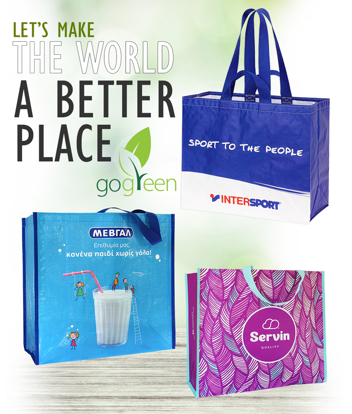 Reusable Shopping Bags - Eco friendly