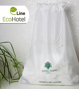 Hotel non woven laundry bags