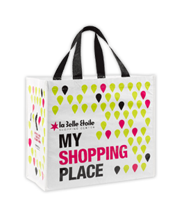 r-PET laminated eco shopping bags
