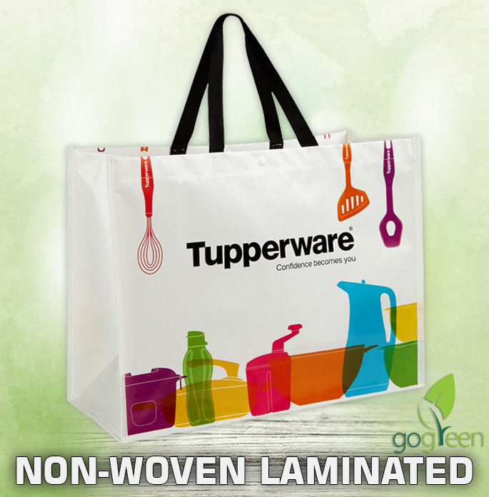 Non Woven Laminated Reusable Shopping Bags - Eco friendly