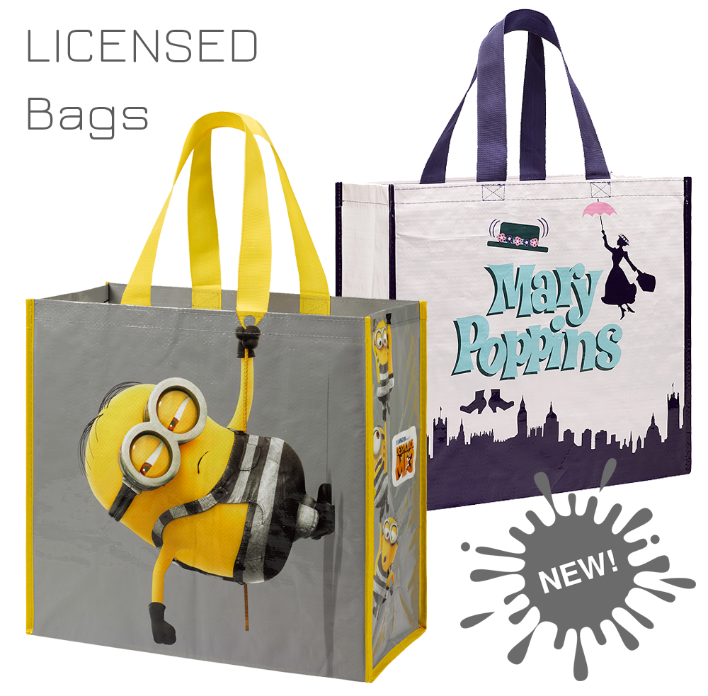 licensed eco shopping bags